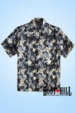 Blue Monday Tiki Lounge shirt