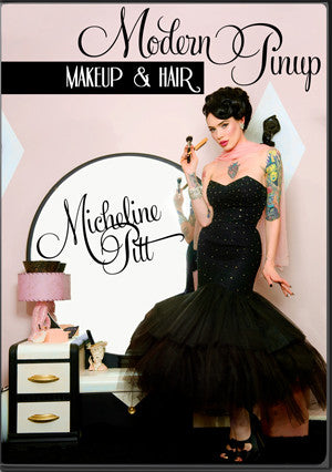 Modern Pinup Make Up & Hair DVD by Michaline Pitt