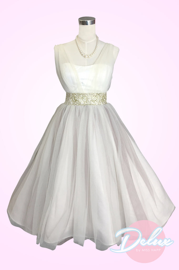 Dollie Wedding Dress Antique Gold