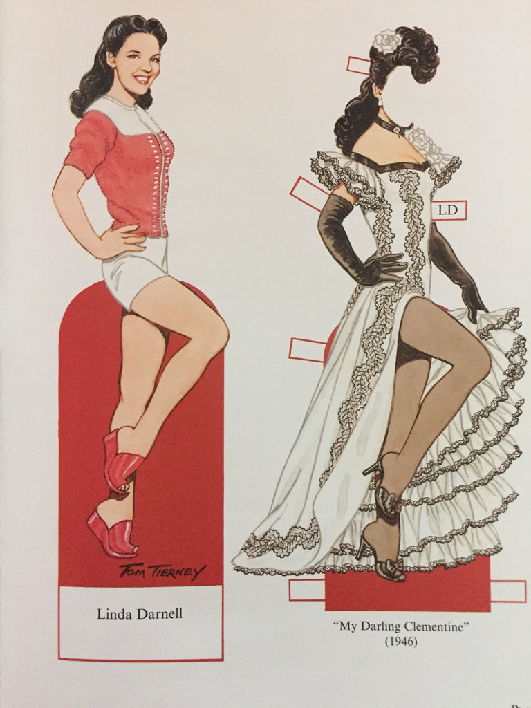 Pinup Girls of World War II Paper Dolls by Tom Tierney