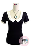 Katy Top Black