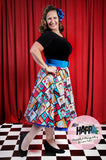 Lucille Margotrita Flared Skirt