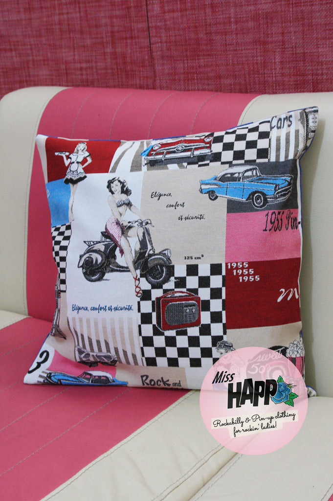 Pinup 1955 Retro Cushion