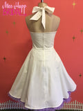Angie Halterneck Bridal White Dress
