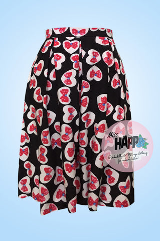 Hearts and Bow Julie Skirt
