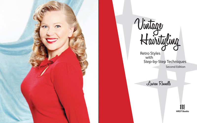 Vintage Hair Styling Book by Lauren Rennells