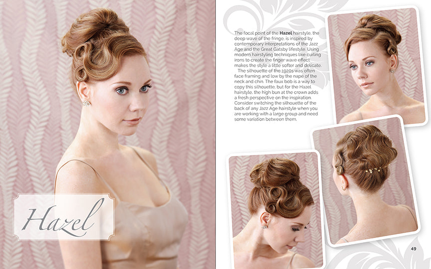 Vintage Inspired Wedding Hair Book by Lauren Rennells