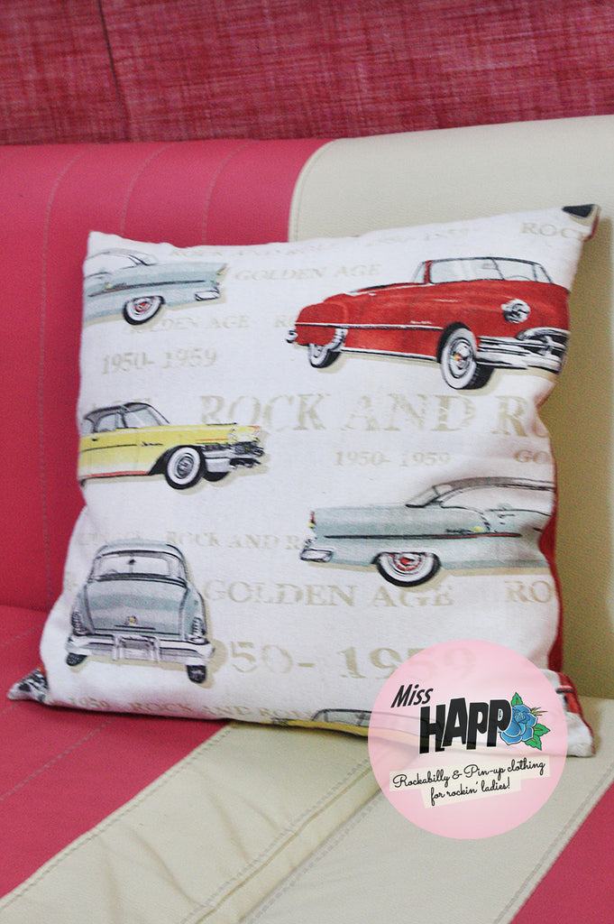 Golden Era Car Cushion