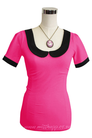 Katy Top Hot Pink