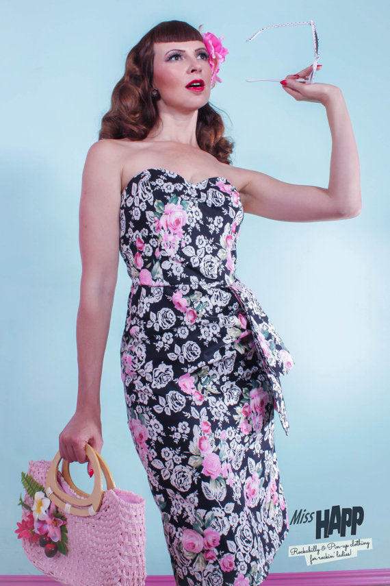 Doris Pin-up Wiggle Dress