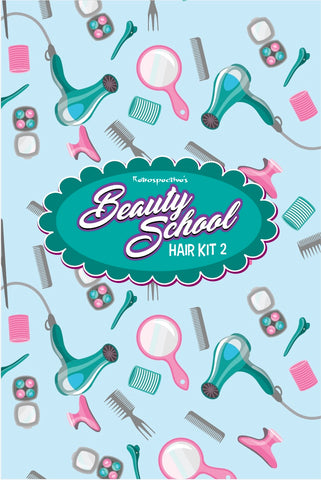 Beauty School Hair Kit 2: Sprays & fixing products