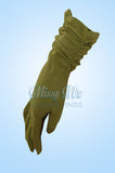Vintage Rouged Pale Green Gloves