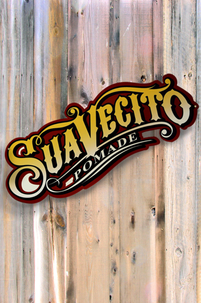 Suavecito Logo Tin Sign