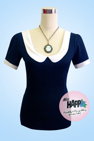 Katy Top Navy