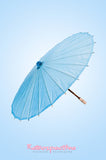 Light Blue Paper Parasol