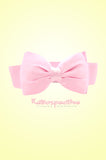 Pink Satin Bow Belt