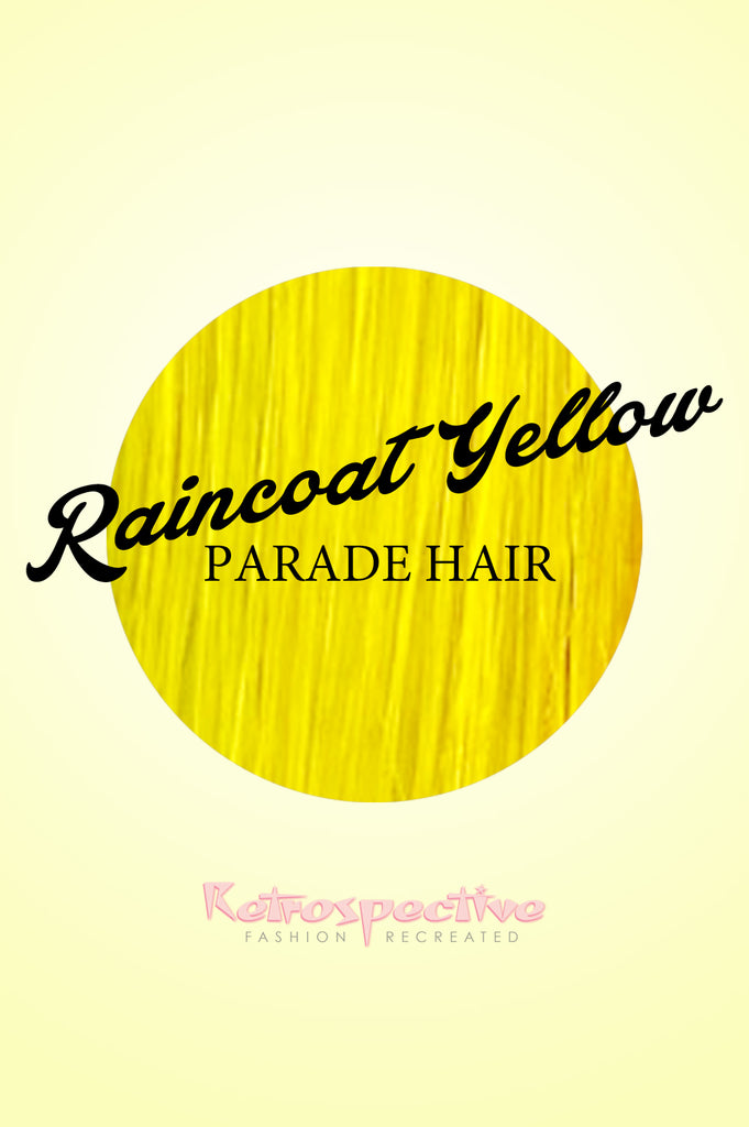 Raincoat Yellow Hair Colour