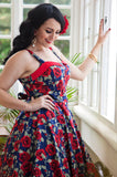Rose Lucy Pin Up Dress