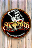 Suavecito Top Label Embossed Tin Sign