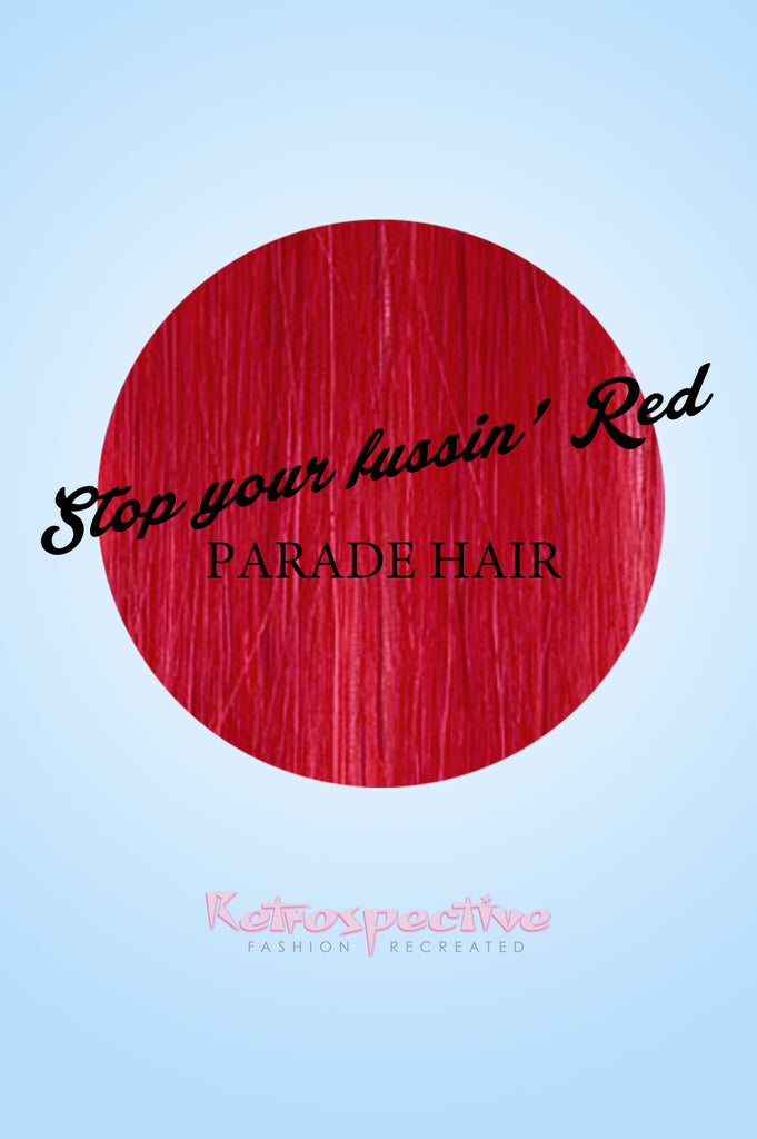 Stop your fussin' Red Hair Colour