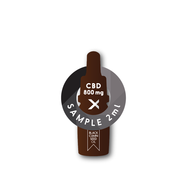 Sample | CBD800 <br> 8%  | Full Spectrum