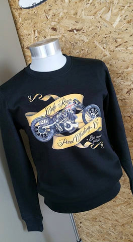 Sweaters: Cafe Racer