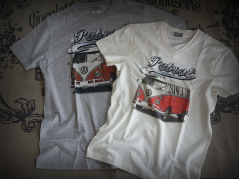 VW Splitty Kombi Crew Neck T