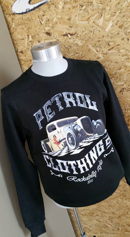 Sweaters: Rat Rod Rockabilly design