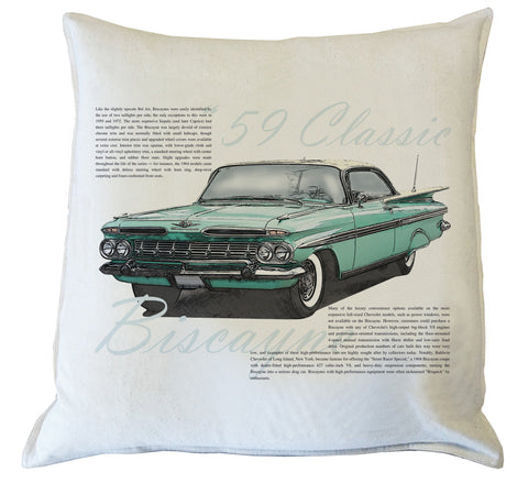 Scatter Cushion: Chevrolet Biscayne 1959 II History