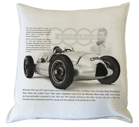 Scatter Cushion: Auto Union history