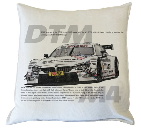 Scatter Cushion: BMW DTM M4 history