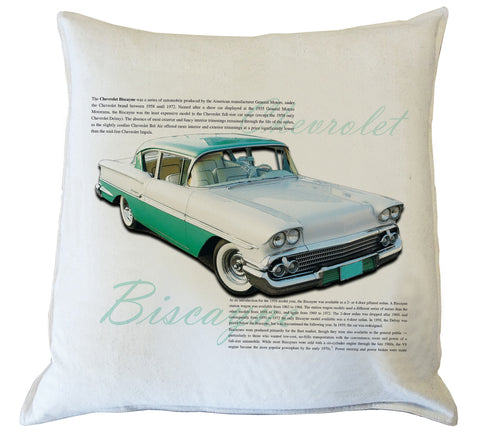 Scatter Cushion: Chevrolet Biscayne 1959 History