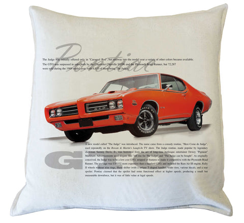 Scatter Cushion: GTO history