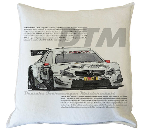 Scatter Cushion: Merc DTM history