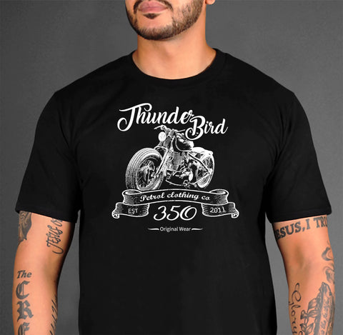 "Royal Enfield ""Thunder Bird"" Crew Neck T"