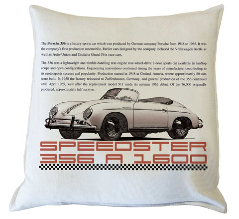 Scatter Cushion : Porsche Speedster history