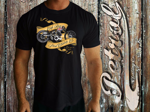 Cafe Racer - Tattoo Ribbon style