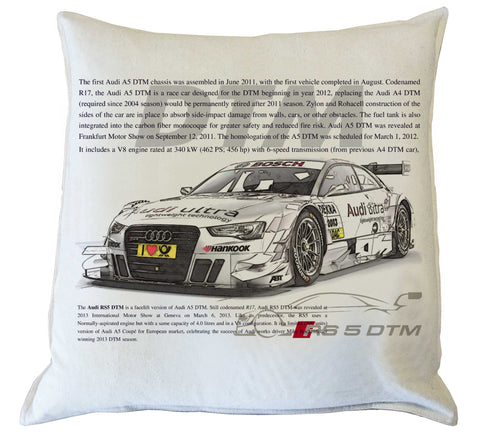Scatter Cushion: AUDI RS5 DTM history