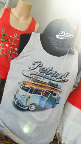 "VESTS/""Wifey"" - Surf Kombi & Pin up"