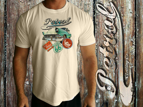 Fairlane & route 66 on Crew Neck