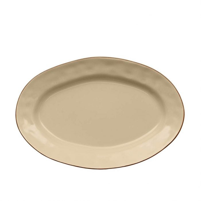 Cantaria Small Oval Platter Sand