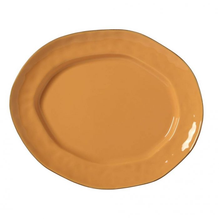 Cantaria Large Oval Platter Golden Honey