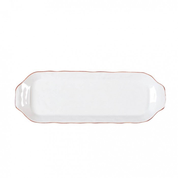 Cantaria Rectangular Tray White