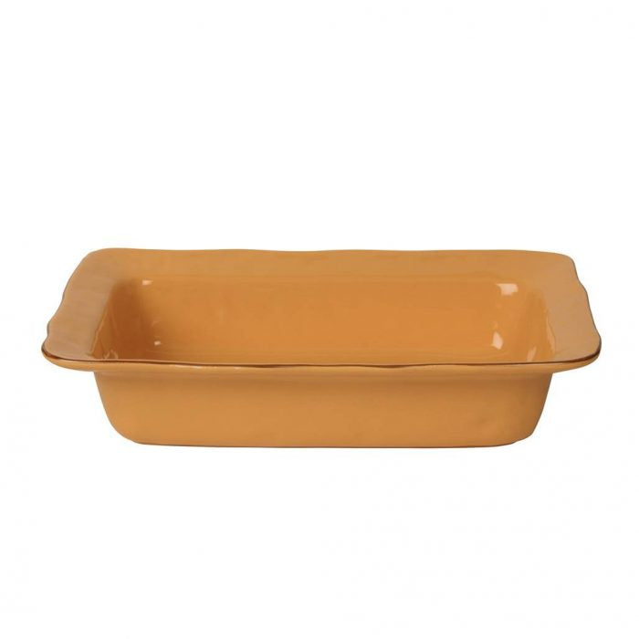 Cantaria Cantaria Large Rectangular Baker Golden Honey