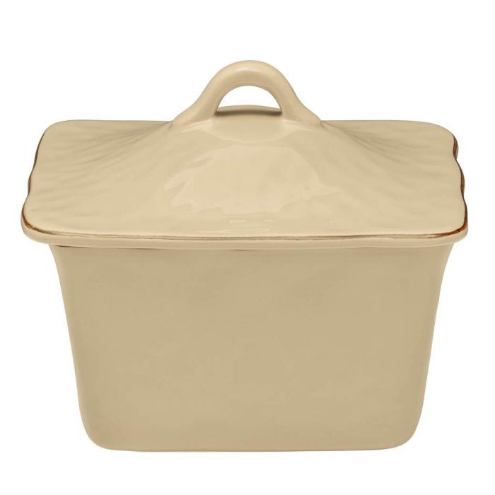 Cantaria Square Covered Casserole Sand