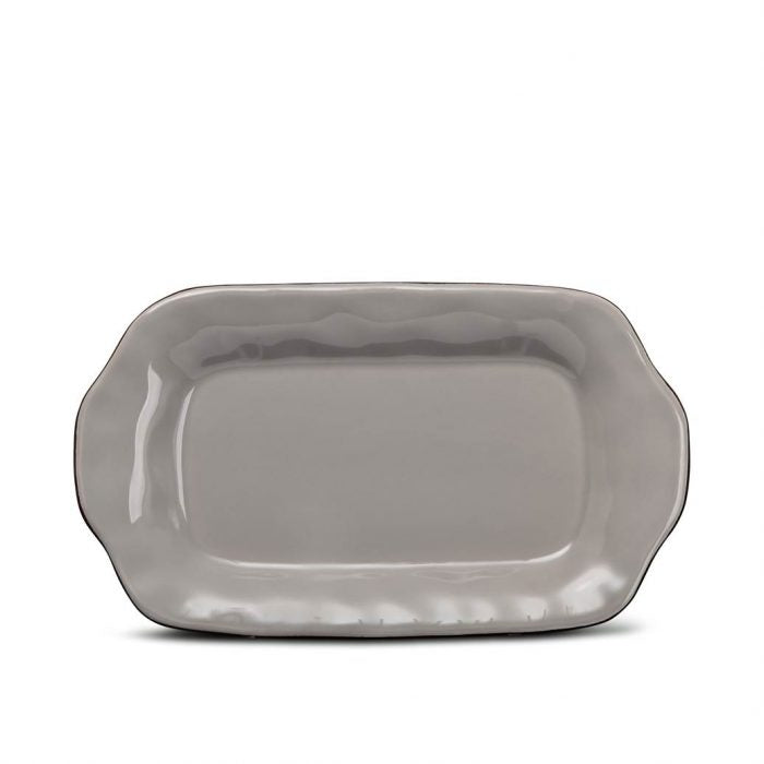 Cantaria Butter/Sauce Server Tray Greige
