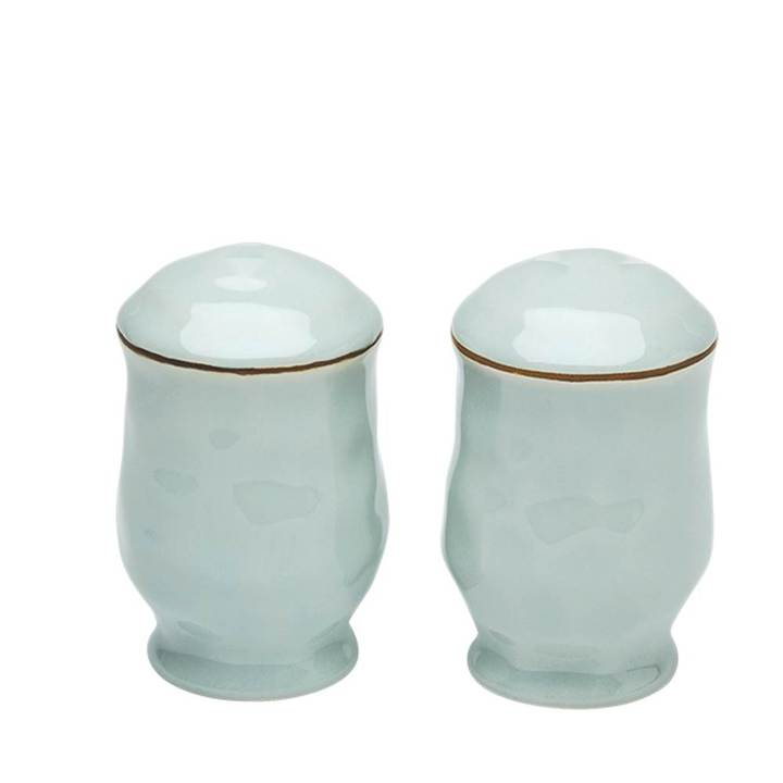 Cantaria Salt and Pepper Set Sheer Blue