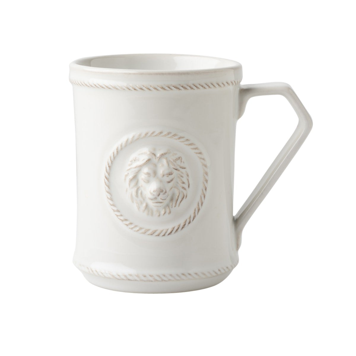 Berry & Thread Whitewash Cupfull of Courage Mug