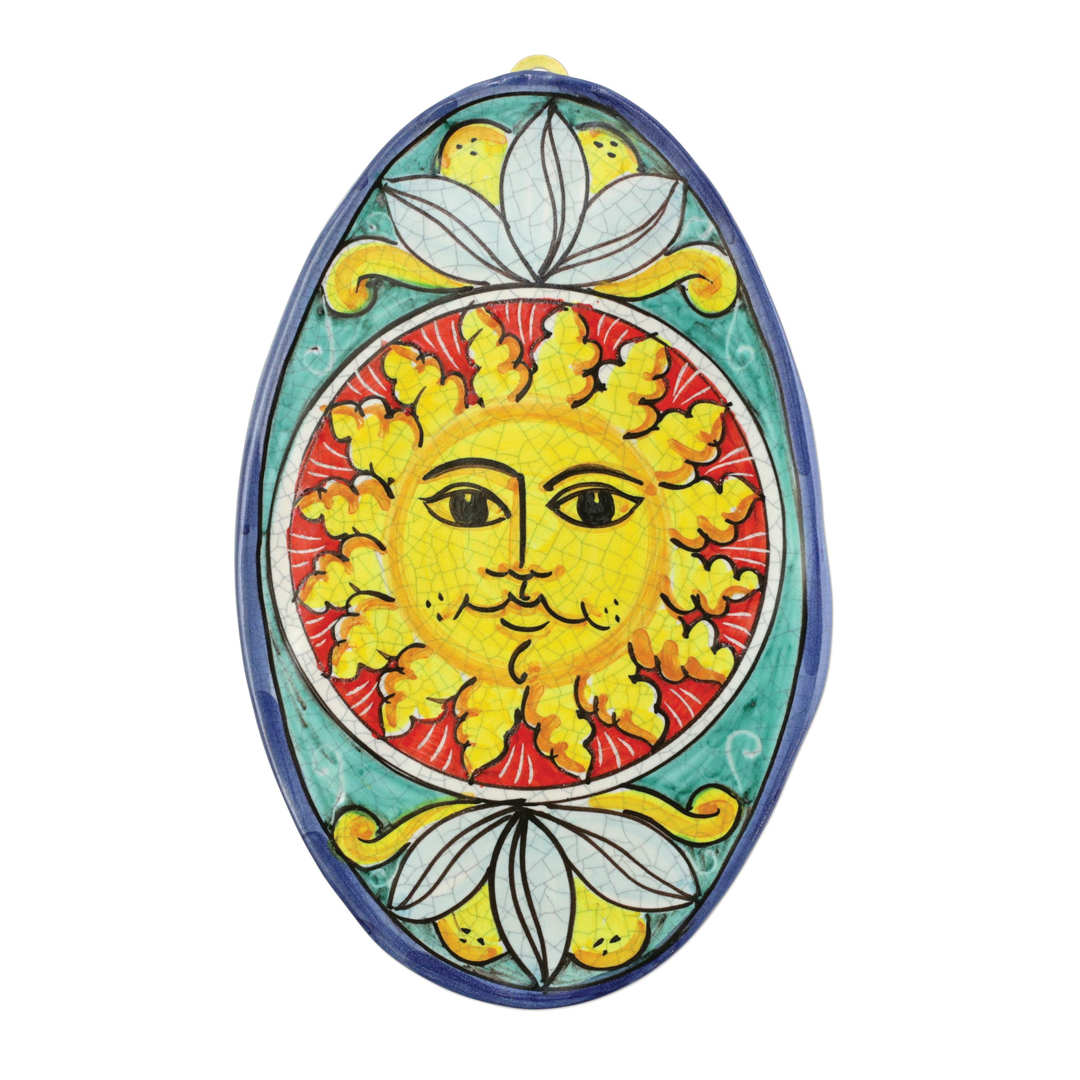 First Stones Sun Oval Wall Plaque