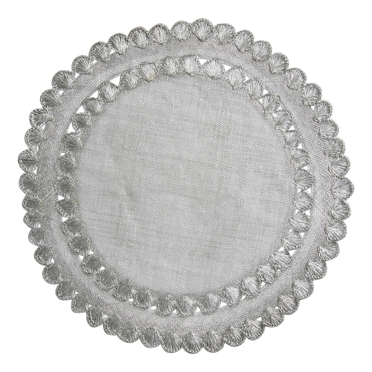 Isadora Silver Placemat